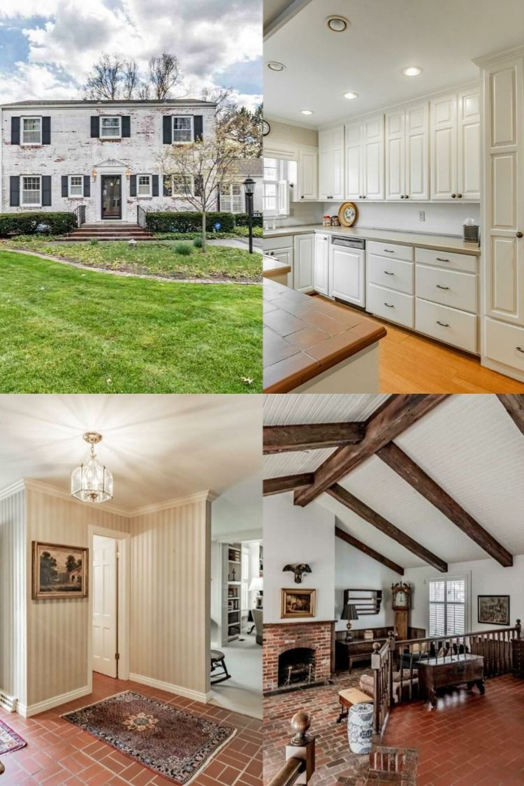 525 W 19th Street Fremont Ne 68025 In 2020 Large Family Rooms Colonial House Custom Bricks