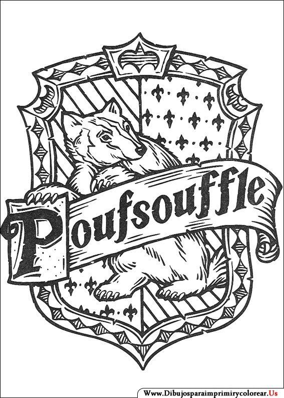 Dibujos De Harry Potter Para Imprimir Y Colorear Clase De Harry