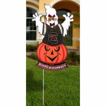 South Carolina Gamecocks NCAA Light Up Ghost Halloween Yard