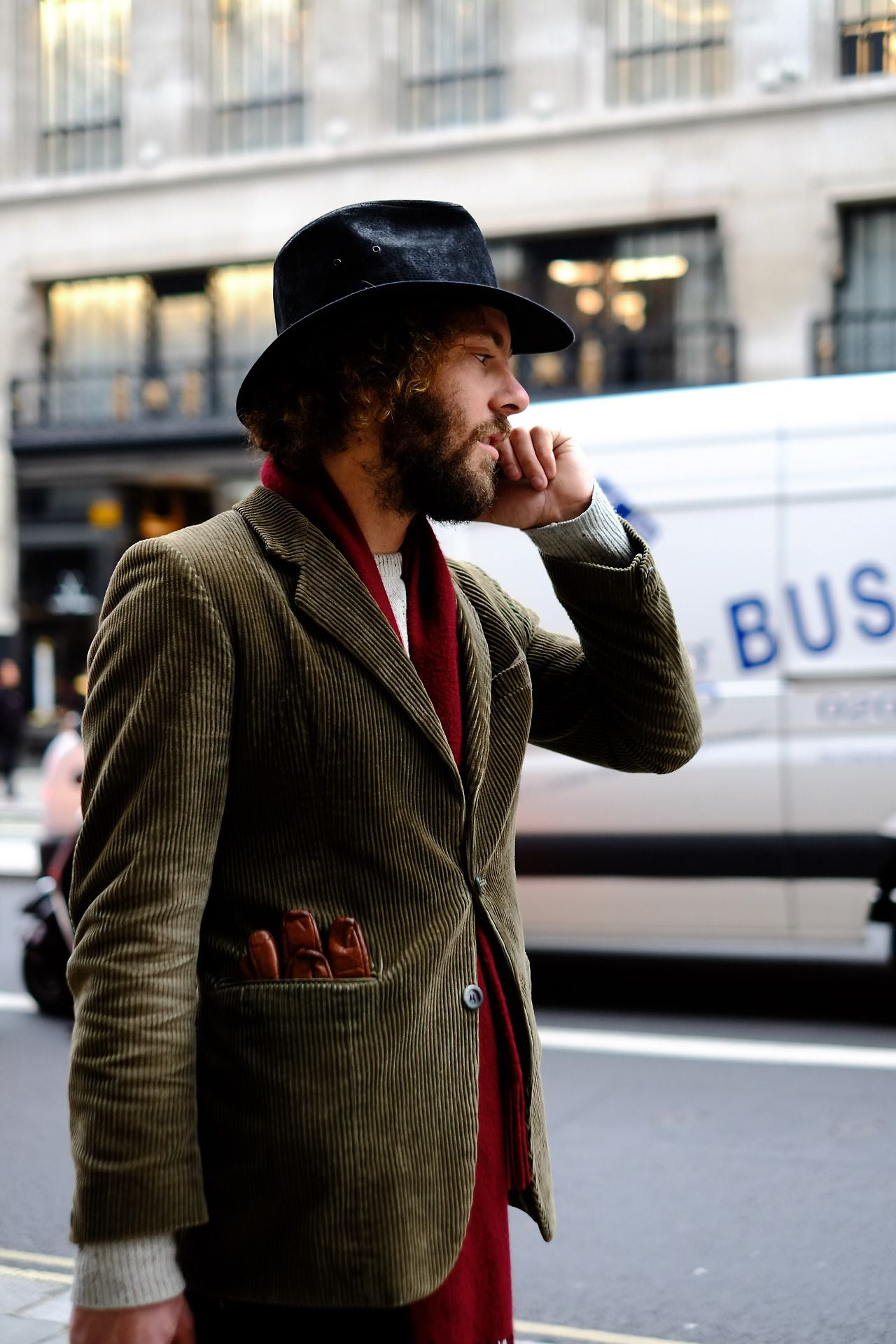 London Street Style, with a thick italian accent