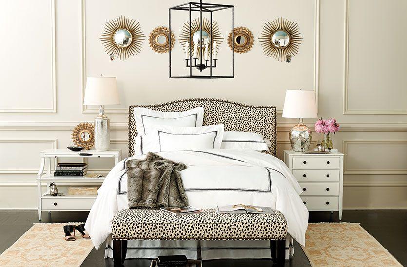Mismatched Nightstands, Bedroom Furniture Runners