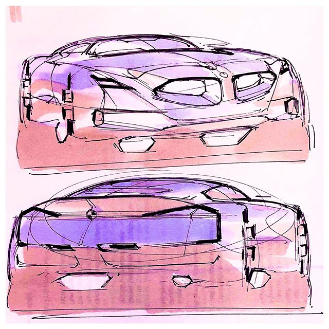 Honda project in progress... #honda #hondadesign #automotivedesign #transportationdesign #productdesign #cardesign #sketch #designsketch…