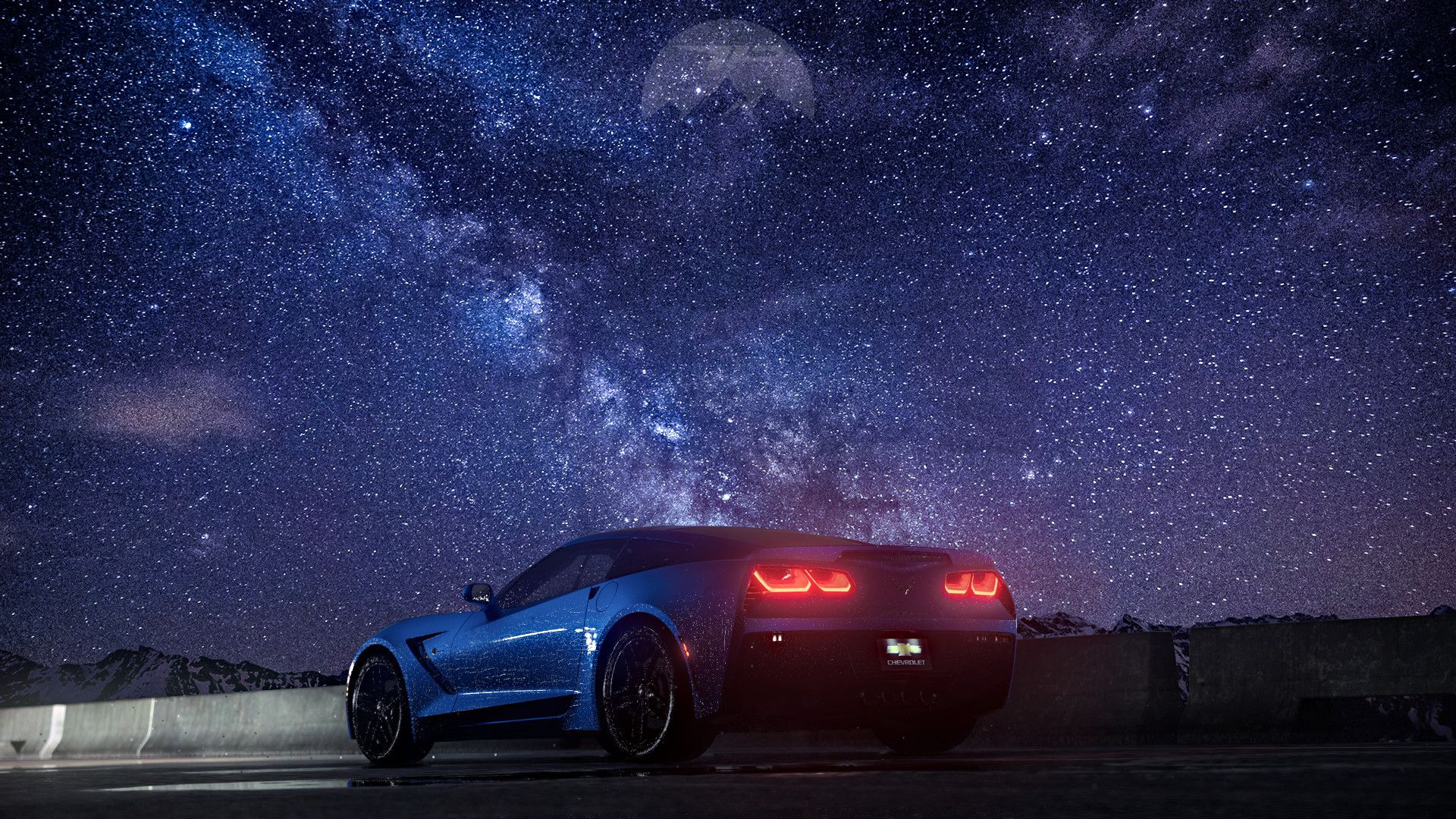 ArtStation Chevrolet Corvette Nikita Fedyanin
