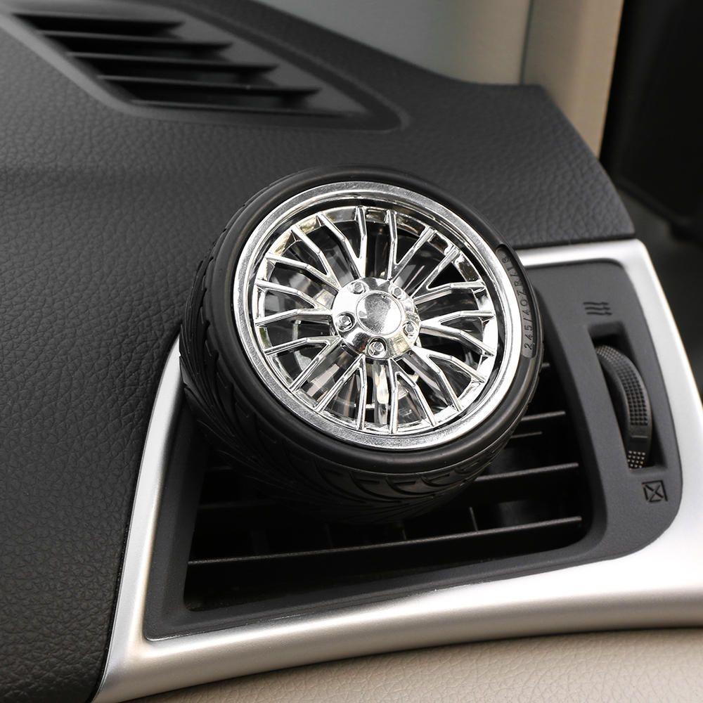 Mini Wheel Tire Car Air Vent Mount Perfume Clip Air