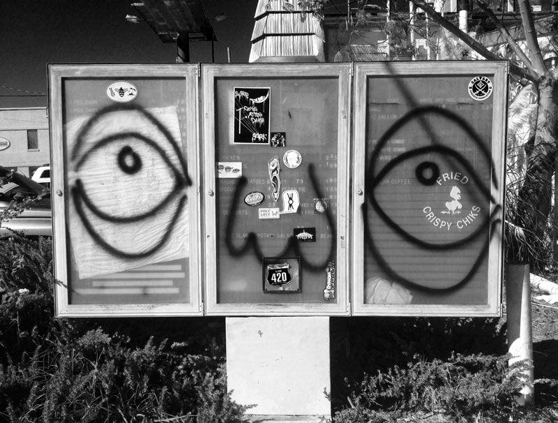 urban city art work in Savannah