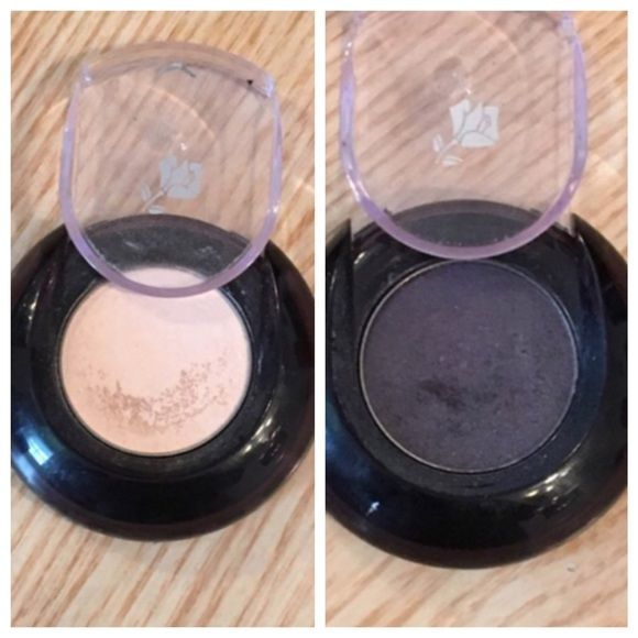 Lancôme eyeshadow Bundle of two Lancôme eyeshadows. Nude silk matte and sultry violet metallic usage shown in photos. . Not NWT just marked for publicity Lancome Makeup Eyeshadow