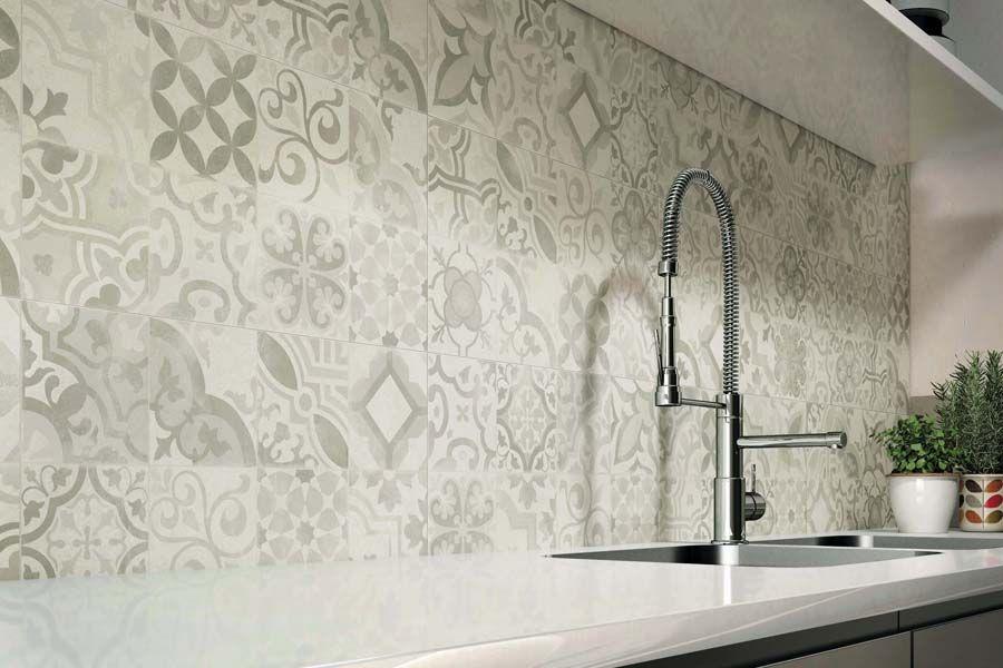 elegante fliese in betonoptik ob k che wohn und essbereich oder badezimmer mit der edlen. Black Bedroom Furniture Sets. Home Design Ideas