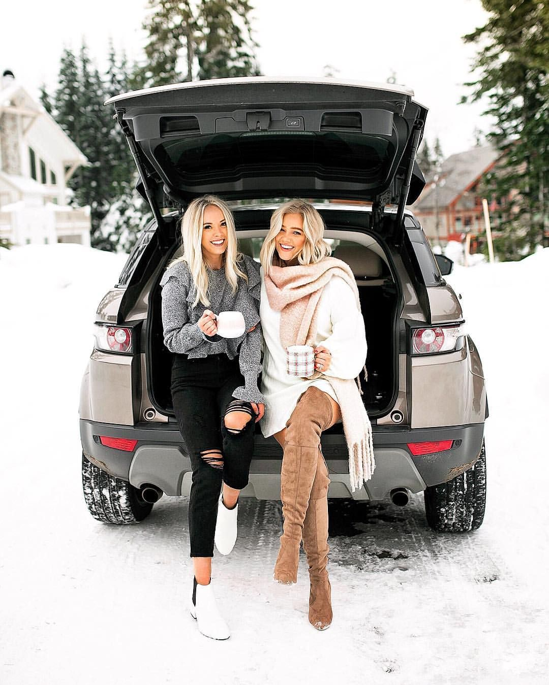 bre sheppard on instagram happy birthday karlierae when people tell ya not to make friends on the internet winter photoshoot winter outfits besties pinterest
