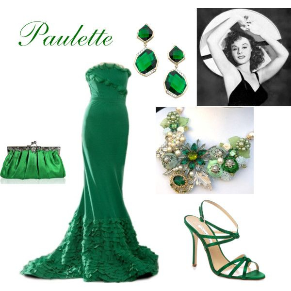 Paulette Goddard by connie-collier-cain on Polyvore