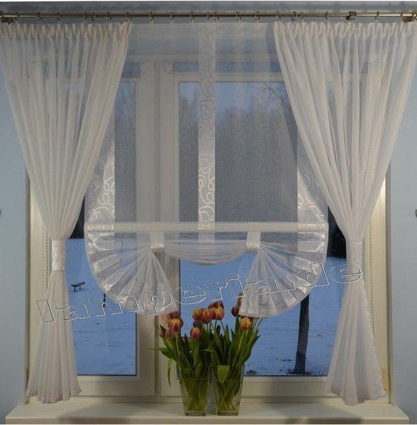 Fensterbreite 160 cm Gardine Komplett Dekoration