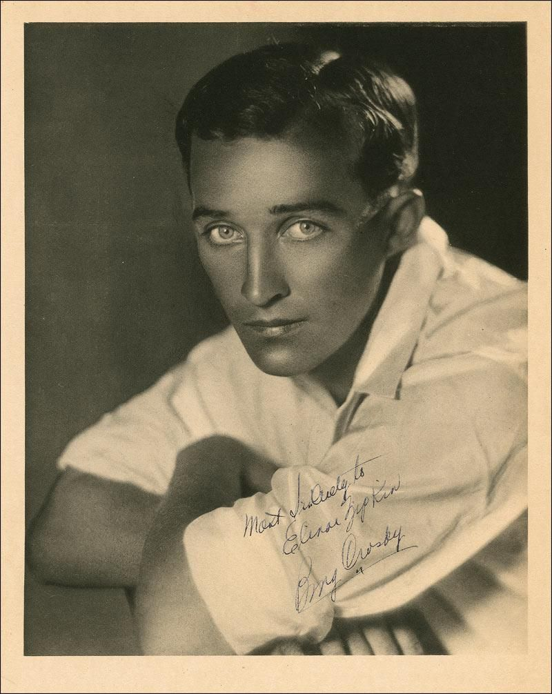 Image result for young bing crosby