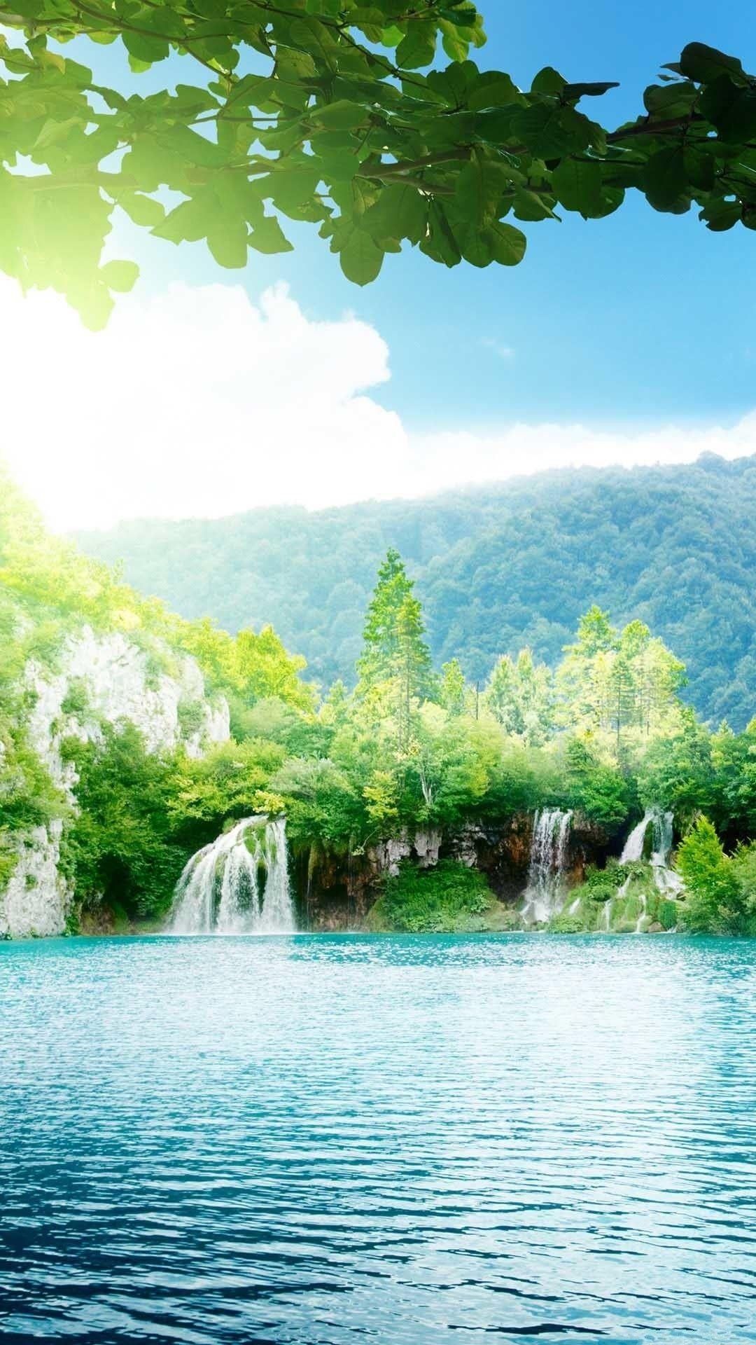 Nature iPhone 6 Plus Wallpapers Enchanting Lake