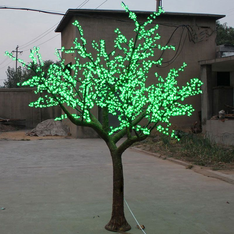 25Meter 2400leds outdoor blossom tree with led lights artificial