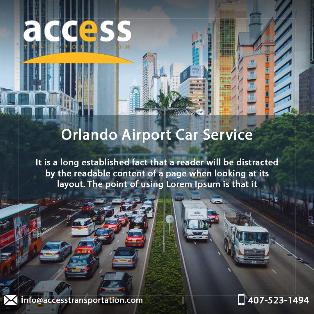 Orlando Airport Transportation (MCO) Airport Car Service