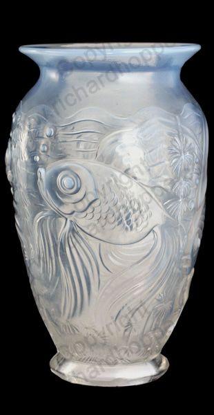 ART DECO OPALESCENT GL. c.1930s BAROLAC (JOSEF INWALD ... Opalescent Gl Flower Vase on multicolor vase, translucent vase, metallic vase, jade vase, stevens & williams vase, elegant vase, victorian vase, lavender vase, hobnail vase, antique vase, cream vase, fluted vase, cameo vase, pyrex vase, loetz vase, pink vase, cobalt vase, ivory vase, textured vase, white vase,