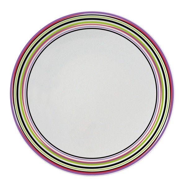 Acheter Des Assiettes Design - Assiette Plate Ronde Multicolore