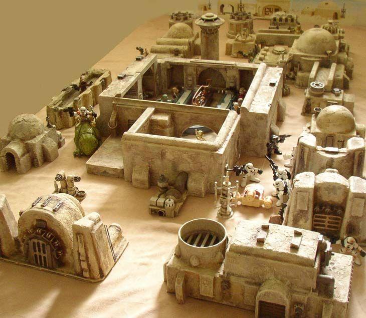 Mos Eisley Terrain For Star Wars Legos Miniature