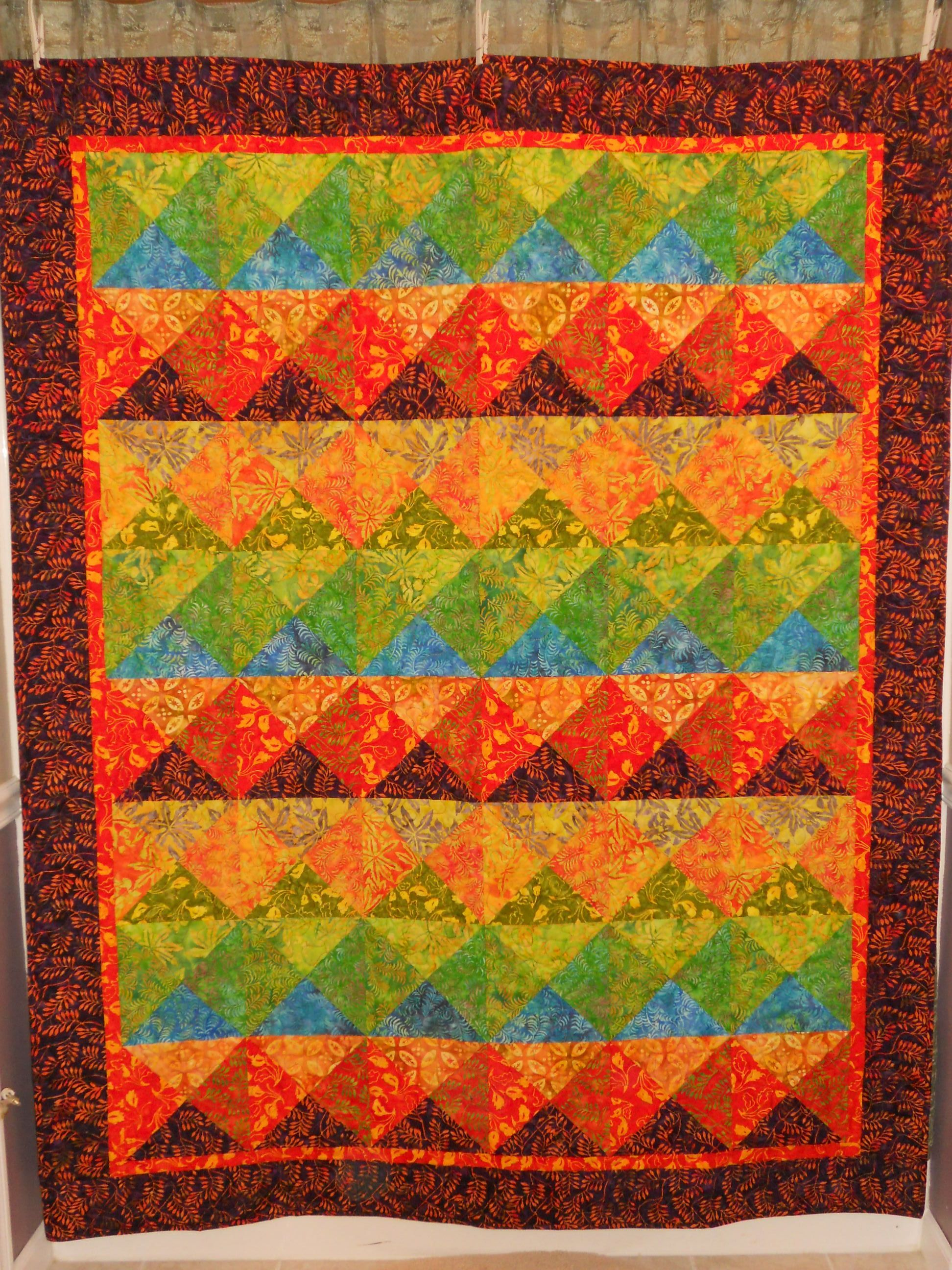 Fons and Porters Quilt Kit I made for my husband before we were ... : fons and porter quilt kits - Adamdwight.com