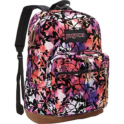 9c0846e80 JanSport Right Pack Laptop Backpack- Discontinued Colors (Multi Rainbow  Garden