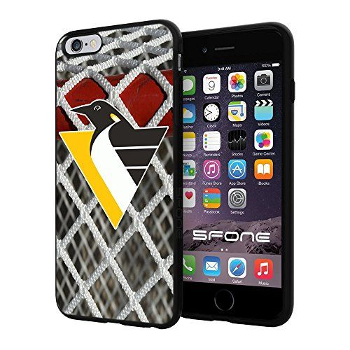Pittsburgh Penguins 3 Goal NHL Logo WADE5081 iPhone 6+ 5.5 inch Case Protection Black Rubber Cover Protector WADE CASE http://www.amazon.com/dp/B013S4FTFA/ref=cm_sw_r_pi_dp_J1VBwb05ZJMVB