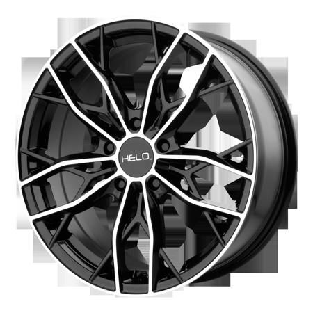 Kmc Xd Wheels He90767012538 Xdwhe90767012538 He907 16x7 5x114 30 Gloss Black Machined 38 Mm Walmart Com Helo Wheels Wheel Rims Cheap Wheels