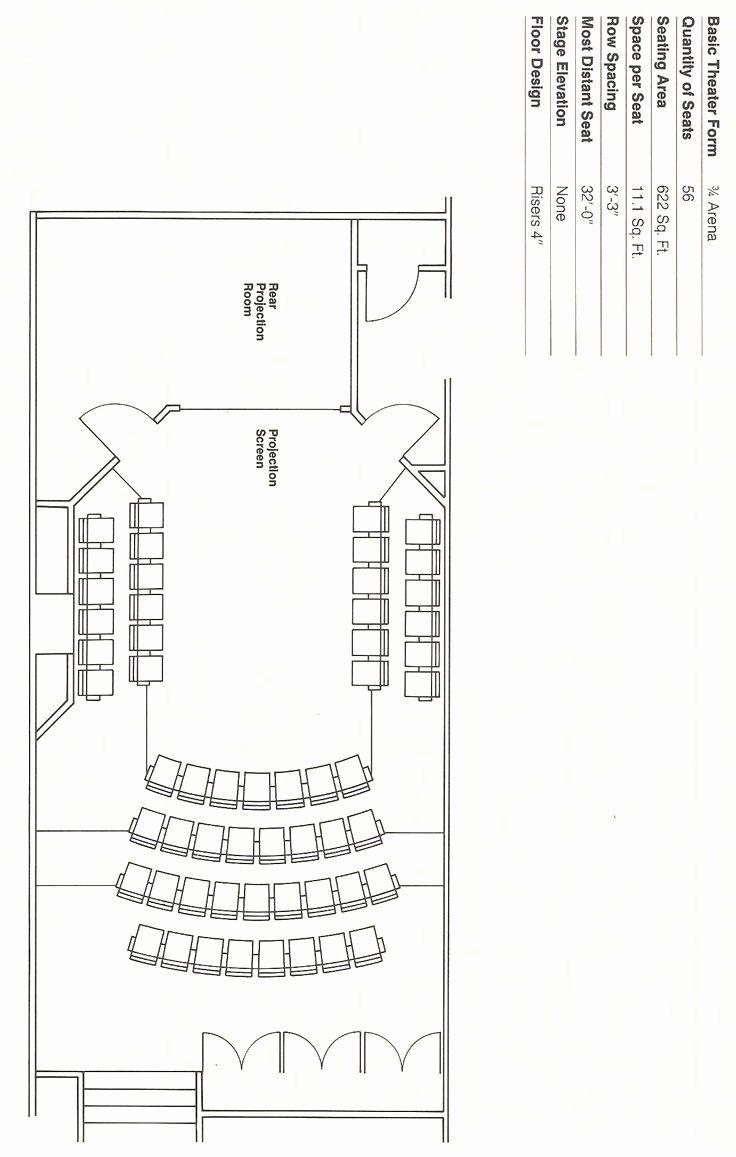 Auditorium Seating Chart Template New An Auditorium