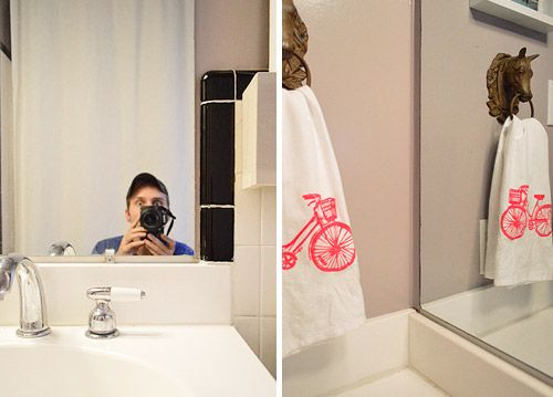 Wie Man Einen Holzernen Rahmen Um Einen Badezimmer Spiegel Errichtet