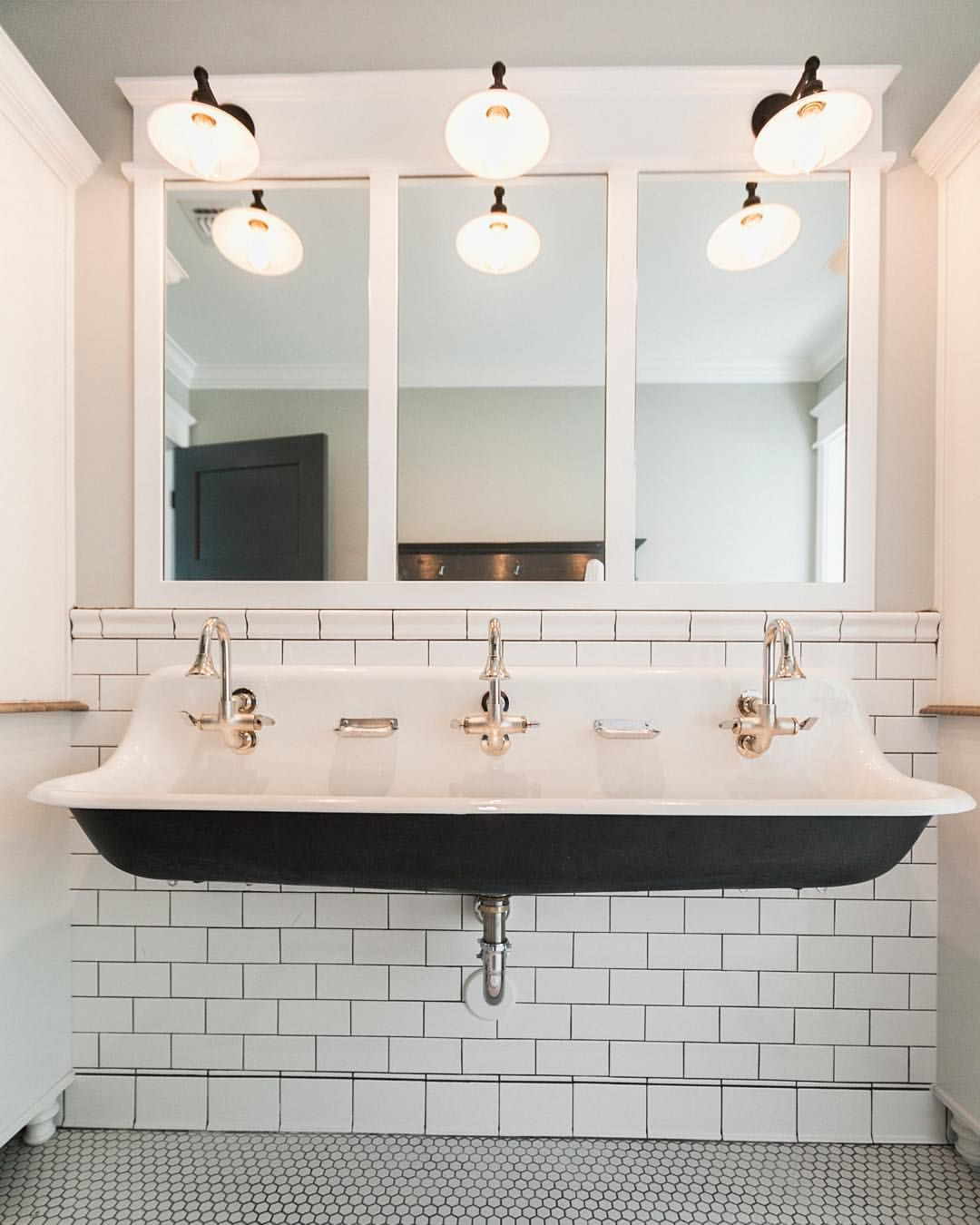 Planning out a new hall bathroom design and thinking about breaking ...
