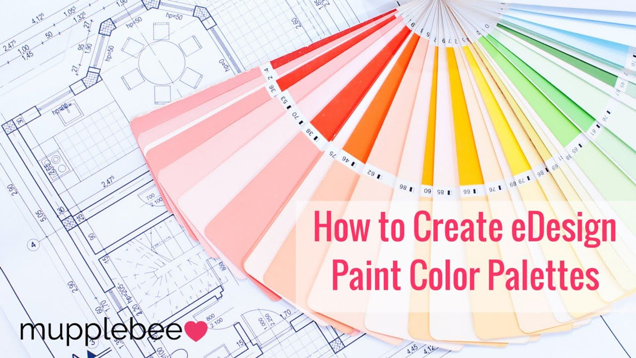 How To Create EDesign Paint Color Palettes Using PicMonkey