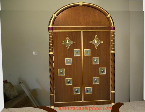 Pooja room designs in living room you deserve admirable for Pooja room entrance door designs