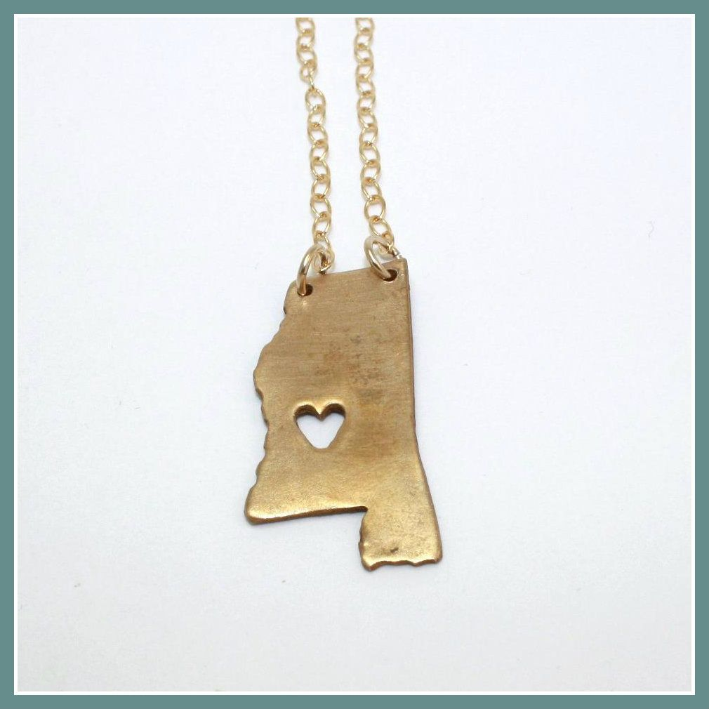 State Necklaces! They come in silver and gold. We can do these in any state you want, Tennessee, Texas, New York, Pennsylvania, California, Kansas, Georgia, Alabama, Florida, etc. Just give us a call at 931.591.3021 & we'll take your order. Find us on Facebook to find more great items!