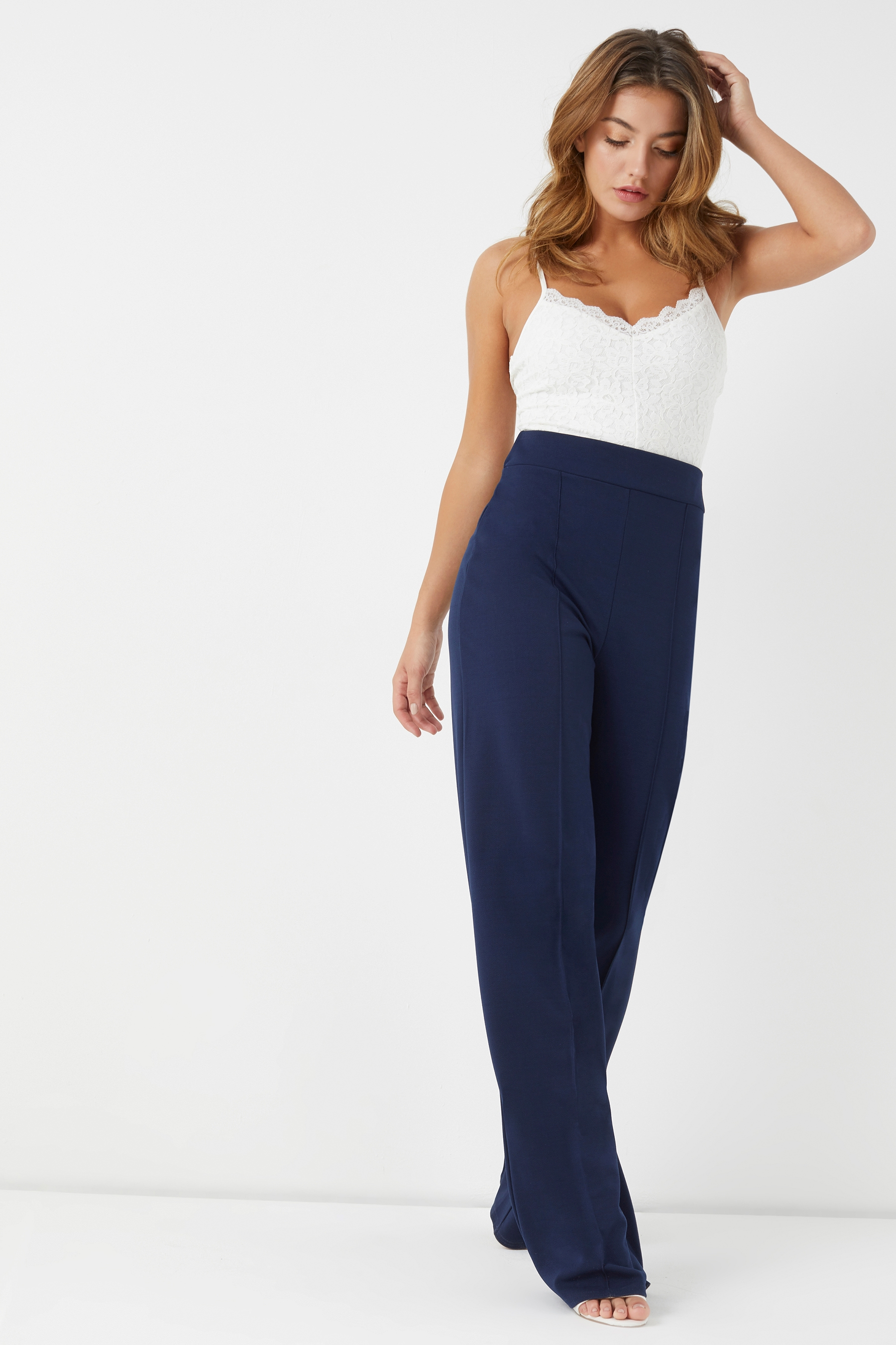 great quality the sale of shoes wholesale sales Womens Lipsy Tall High Waist Trouser - Blue   Trousers, Lipsy, Pants