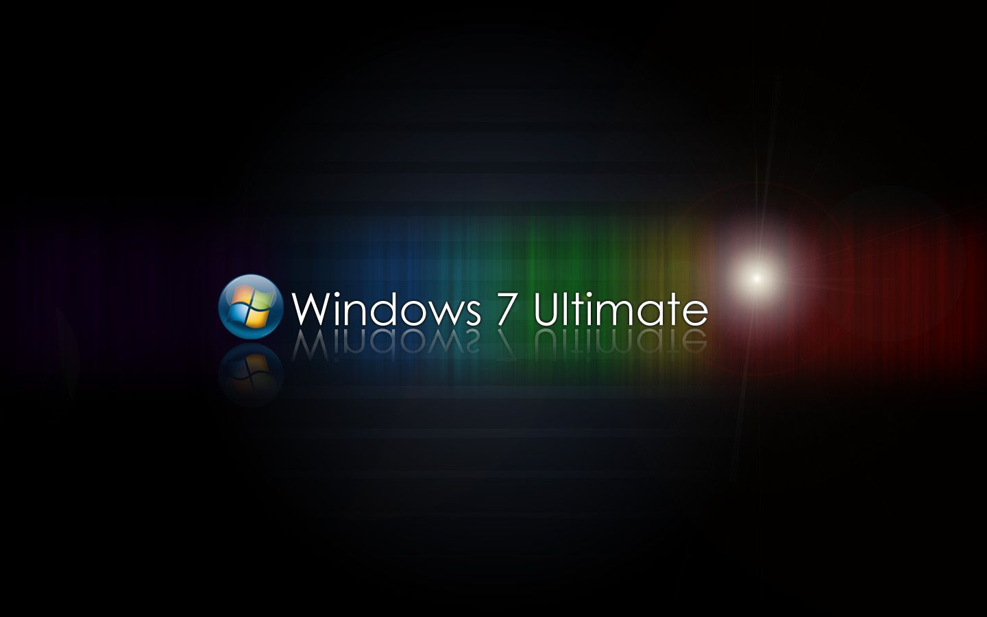 Moving Windows 7 Ultimate Wallpaper