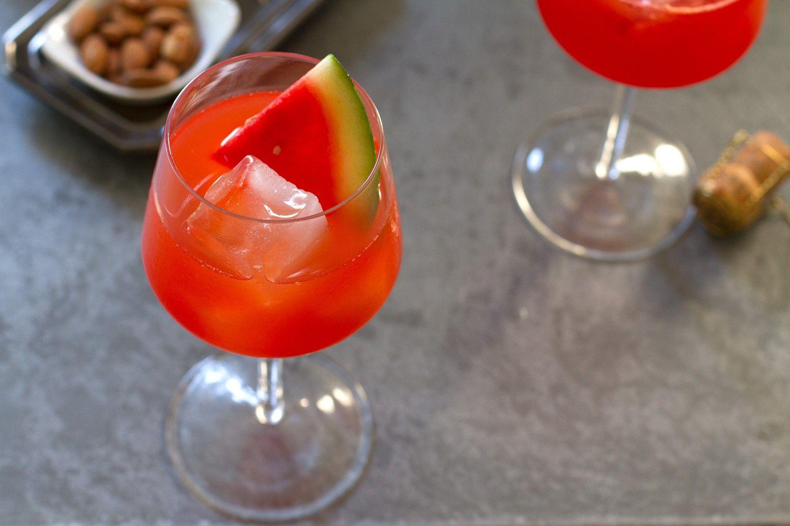 Watermelon Ginger Aperol Spritz Cocktail Recipe Recipe Aperol Spritz Aperol Cocktails
