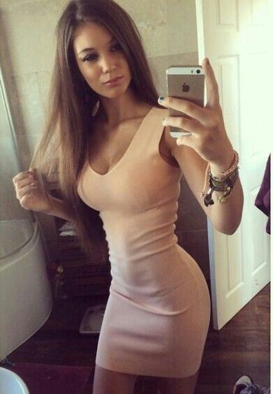 Tight Dresses Sexy Dresses Tight Skirts Pink Dresses Girls Selfies Hot