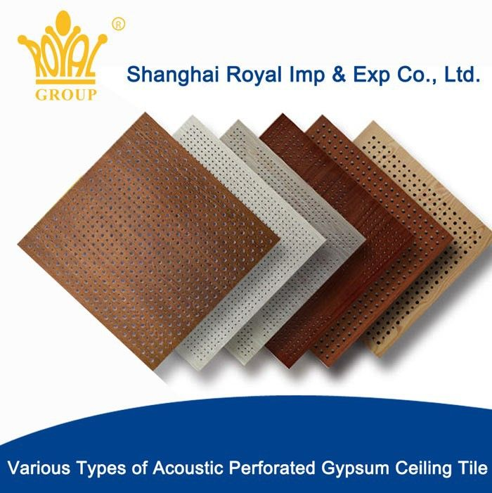 Perforated Acoustic Gypsum Ceiling Tilesrwp002 A07 Find Complete