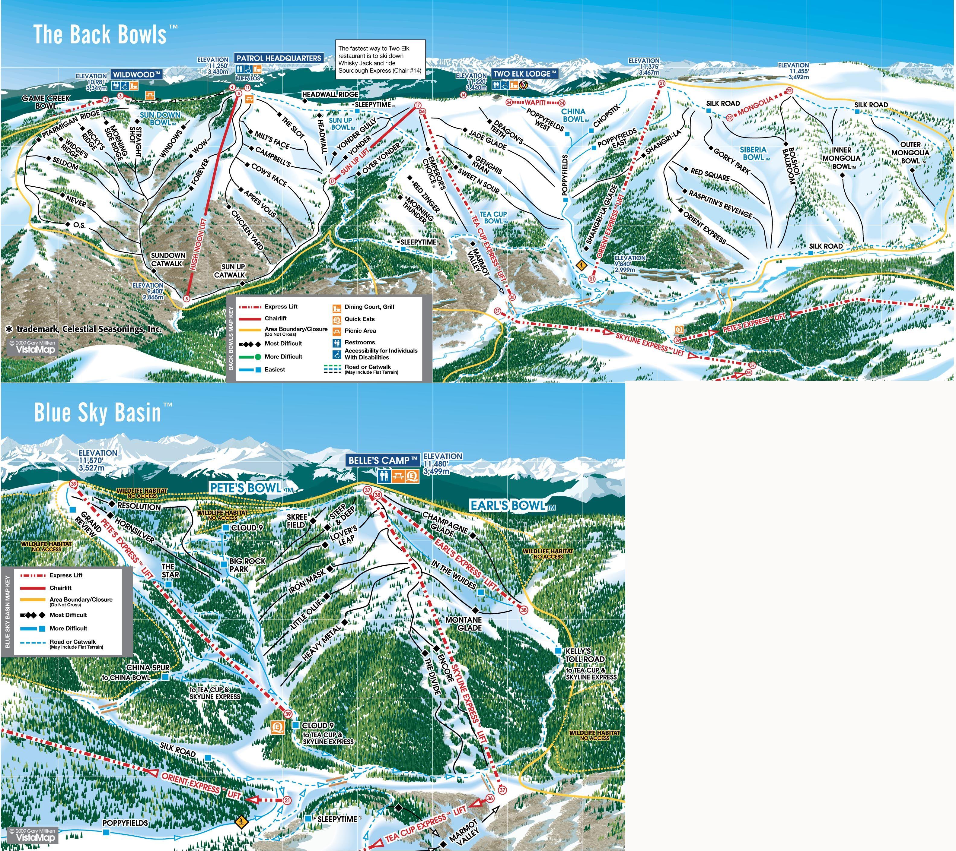 Vail Trail Map Back Side Jpg 3168 2822 Trail Maps Ski Town Ski Area