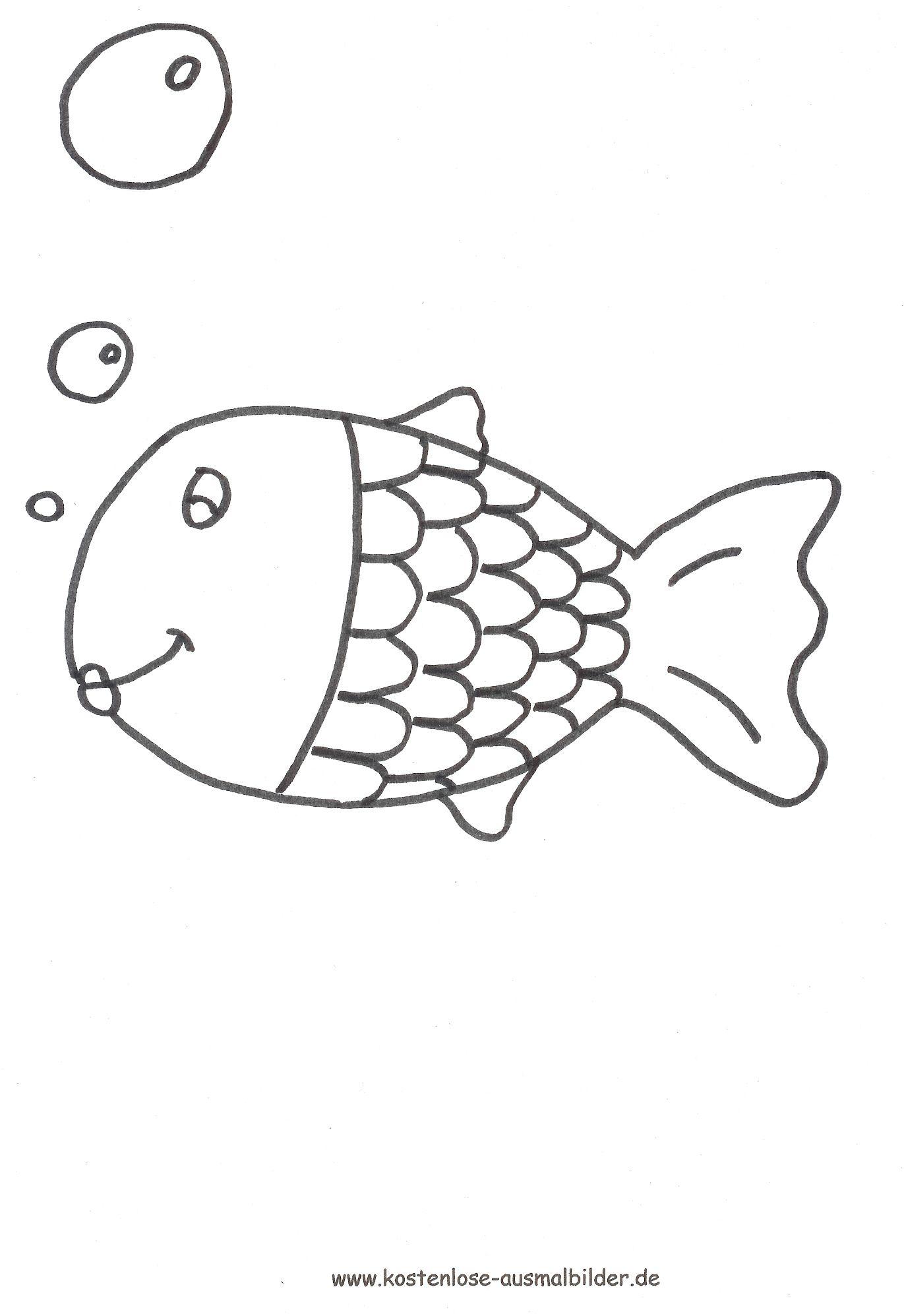 ausmalbild goldfisch ausdrucken  ausmalbilder