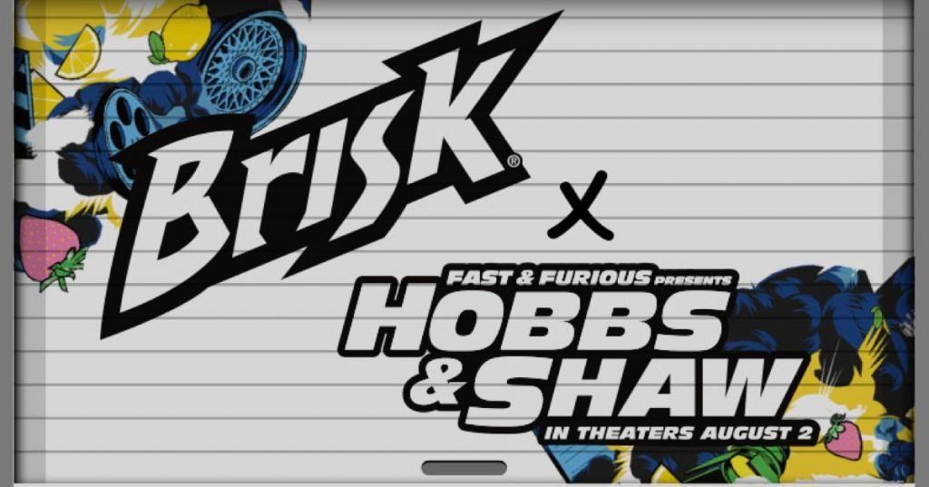 Brisk hobbs shaw sweepstakes disney movie rewards