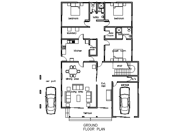 3 4 5 6 Bedroom House Plans In Ghana Design Home Interior