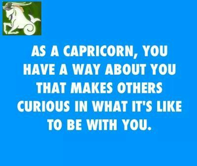 Curious about Capricorn