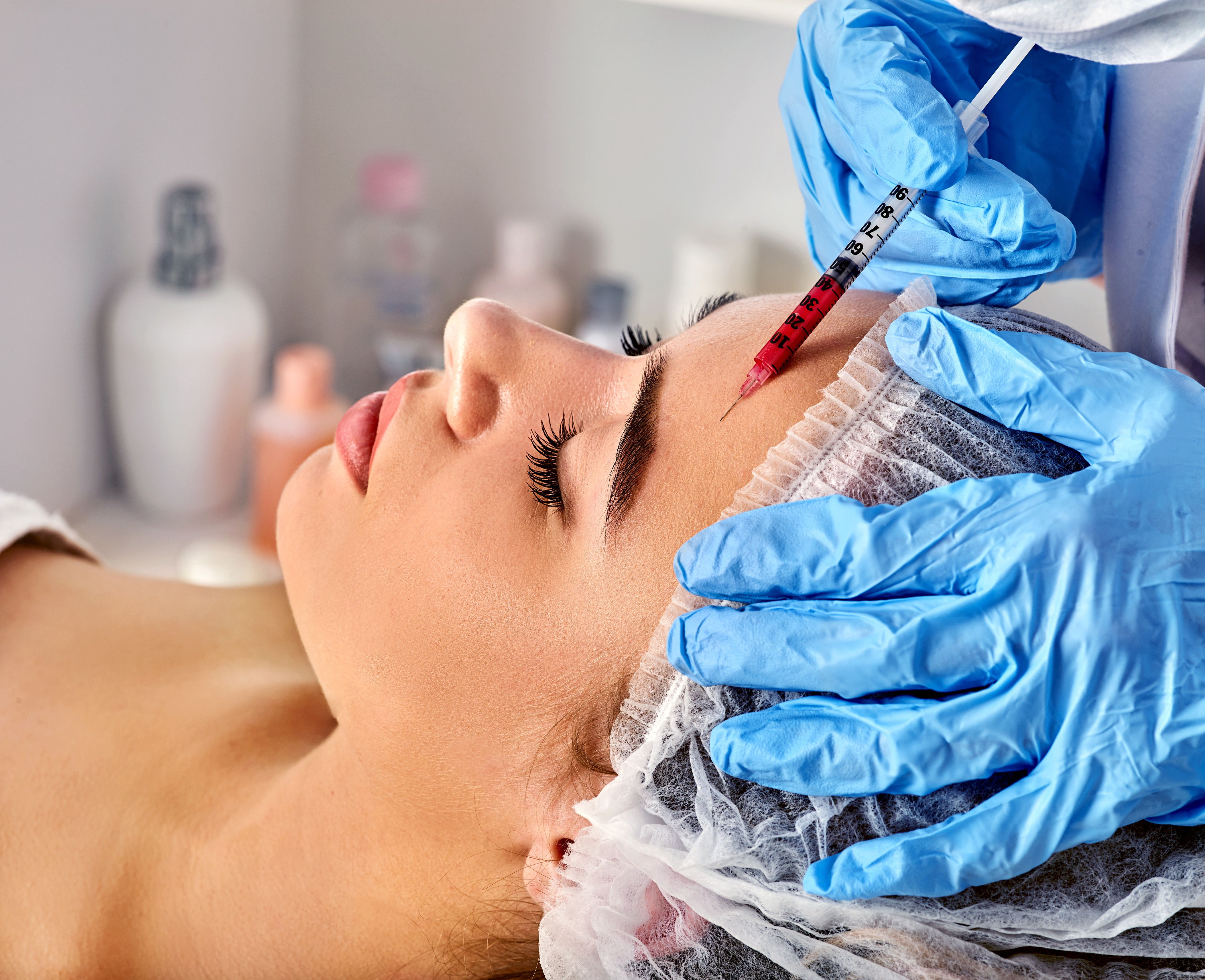 Popular injectables we offer include Dysport and Botox