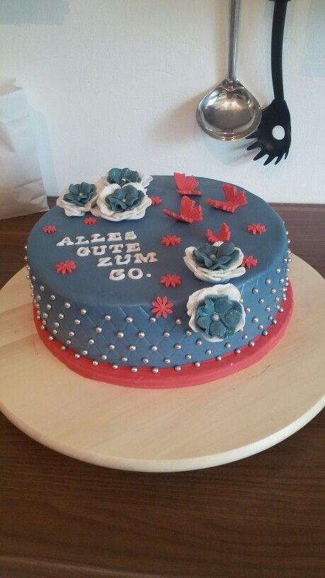 Geburtstags Torte, Quiltet Look
