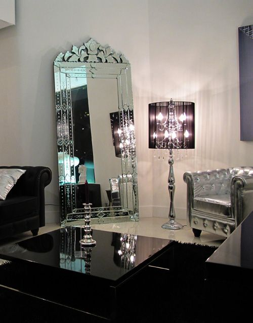 Baroque Living Room Decor: Stylish Floor Lamp By Modani