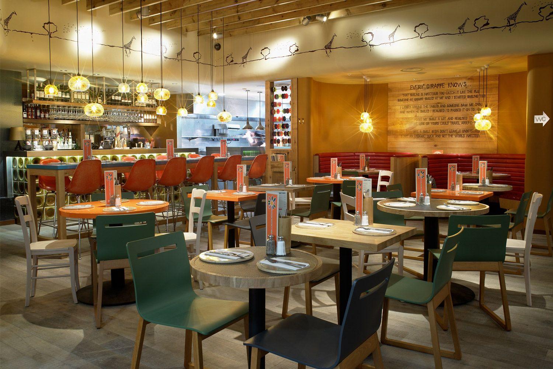 Giraffe Restaurants For Concepts Ltd