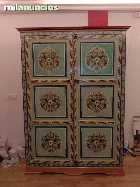 Mil anuncios com armario artesanal pintado a mano - Muebles orientales segunda mano ...
