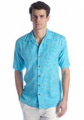 Ocean  Coast   Tropical Camp Shirt