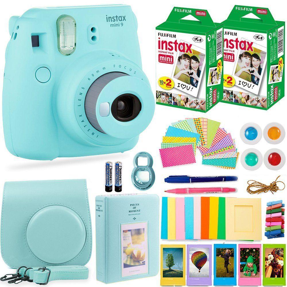 Amazon Com Fujifilm Instax Mini 9 Instant Camera Fuji Instax