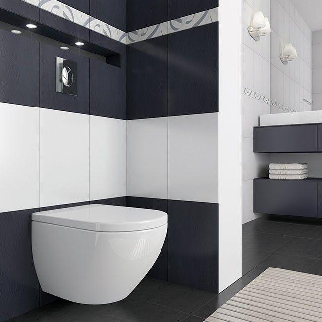Glazura Opoczno Alva 30 X 45 Cm Biala 1 35 M2 Plytki Scienne Plytki Scienne Podlogowe I Elewacyjne Wykonczenie Produkty Design Bathroom Toilet