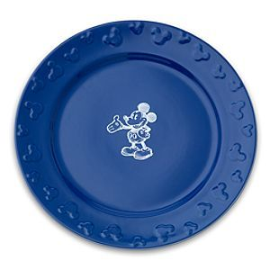Disney Gourmet Mickey Mouse Dinner Plate Set Blue/White available on Disney Store\u0027s website.  sc 1 st  Pinterest & Disney Gourmet Mickey Mouse Dinner Plate Set Blue/White available on ...